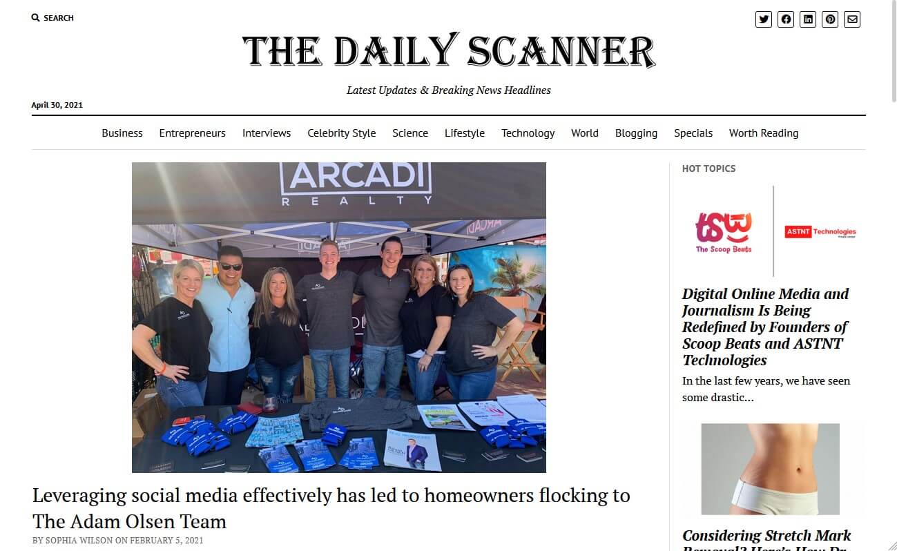The Daily Scanner